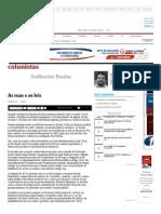 As Ruas e as Leis - 16-04-2015 - Guilherme Boulos - Colunistas - Folha de S