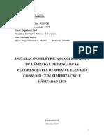 4° Relatório de Inst. Elétricas