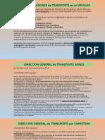 Entes Reguladores de Transporte Uruguay - LAL2015 - Alejandro Martinez