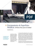 Pretratamiento de Superficies