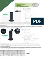 Data Sheet Anemometro