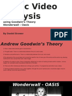 Wonderwall - Andrew Goodwin Analysis