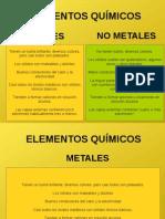Metales No Metales
