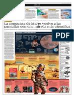La Conquista de Marte Vuelve a Las Pantallas Con Una Mirada Más Científica