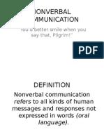 Nonverbal Comm 2010