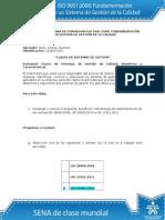 Desarrollo Actividad de Aprendizaje Unidad 2 Sistemas de Gestion