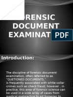 Forensic Document