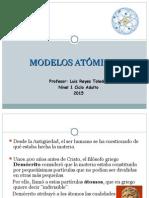 Modelos Atómicos I.a.