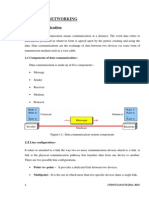 Networking, GSM, Broadband and Optical Fibre Communication