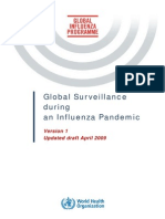 Global Pandemic Influenza Surveilance Apr09