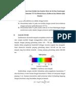 Laporan Spektrometri Ultraviolet