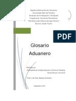 Glosario Aduanero