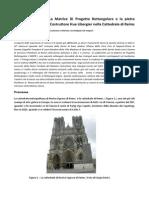 Geometria Sacra La Matrice Di Progetto Rettangolare e La Pietratombale Del Maestro Costruttore Hue Libergier Nella Cattedrale Di Reims