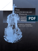 The Contemporary Violin - Allan and Patricia Strange