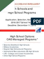 high school application process 2016-2017 final