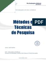 Metodos e Tecnicas de Pesquisa Atualizado