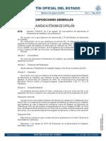 Convocatoria Elecciones al Parlamento de Cataluña 2015