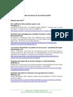 Boletín de Noticias KLR 01OCT2015