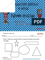 Evaluación Inicila 4 Años IE Original
