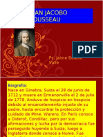 Juan Jacobo Rousseau. Ps. Jaime Botello Valle