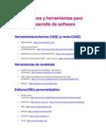 Entornos y Herramientas Para Desarrollo de Software