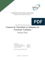ACCIONAMIENTO ELÉCTRICO DE MÁQUINAS DE CORRIENTE CONTINUA