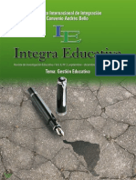Gestion Educativa - Revista Integra -Bolivia