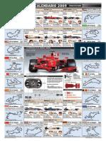 Calendario 2009 Formula 1