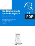 Modelamiento de ideas de negocio - Business model canvas