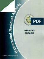 Derecho Agrario Universidad Nacional Agraria de Nicaragua