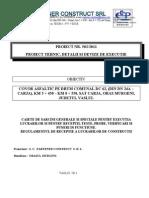 Caiete de Sarcini - Regulament de Receptie