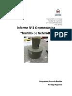 Informe 3 Geomecanica
