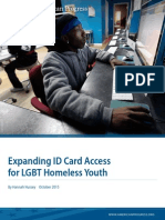 Expanding ID Card Access for LGBT Homeless Youth