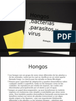 Hongos ,Bacterias ,Parasitos y Virus