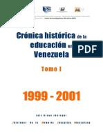 Crónica histórica de la educación en Venezuela 1999-2001