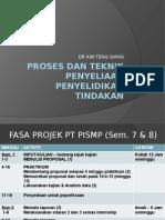 Proses Dan Teknik Penyeliaan Penyelidikan Tindakan 2015