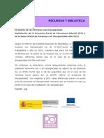 INE_ Salario de Las Personas Con Discapacidad 2015
