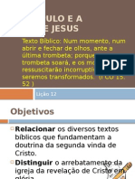 O Discípulo e a Volta de Jesus (1)