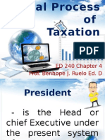 Legal Process of Taxation