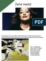 Zaha Hadid.ppt