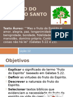O Fruto Do Espirito Santo