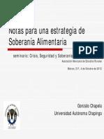 Gonzalo Chapela - Presentación