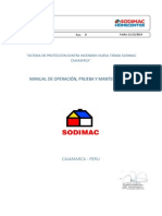 Manual de Op, Prueba y Mantto Aci Tienda Sodic