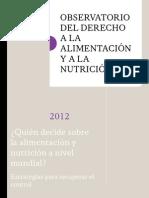 Observatorio 2012 - Texto Completo