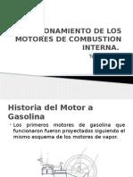 Motores de combustion interna ciclo otto de dos tiempos y de cuatro tiempos