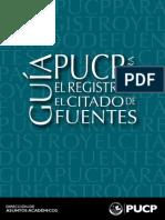 Guia PUCP Para El Registro y Citado de Fuentes-2015