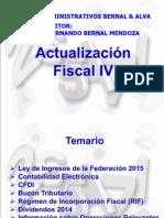 Actualización Fiscal IV