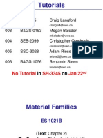 Material Families