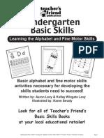 Scholastic K Skills (Alphabet & Fine Motor Skills)