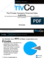 PrivCo Overview Presentation